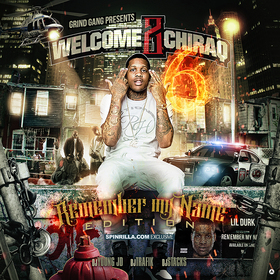 Welcome 2 Chiraq 6: Remember My Name Edition DJ Young JD front cover