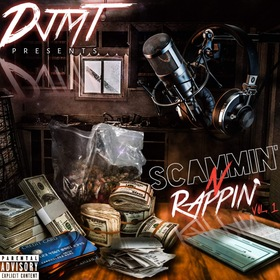 Scammin N Rappin Vol.1 DJMT front cover