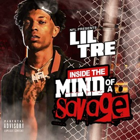Inside The Mind Of A Savage NFL Lil Tre front cover