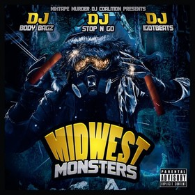 Midwest Monsters DJ Stop N Go front cover