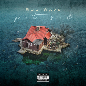 P.T.S.D. Rod Wave front cover