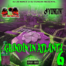 GRINDIN IN ATLANTA 6 Various Artists front cover