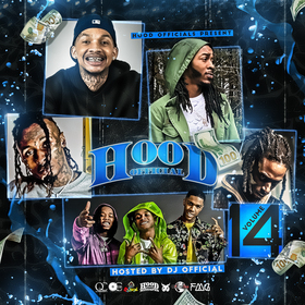 Hood Official Vol. 14 DJ Official front cover