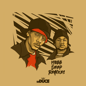 Mobb Deep Remixes DJ Duce front cover