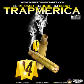 Trapmerica  DjClout front cover