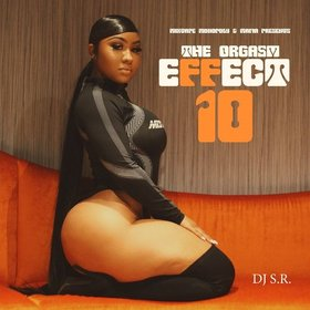 The Orgasm Effect 10 DJ S.R. front cover