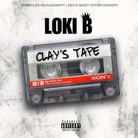 Clay's Tape Loki B front cover
