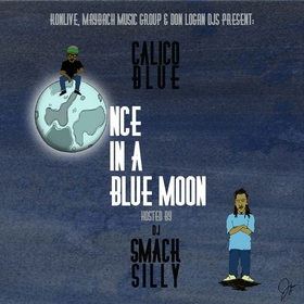 Once In A Blue Moon Calico Blue front cover
