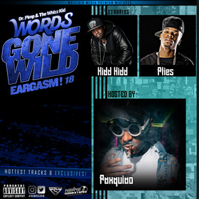 Eargasm! 18 (hosted by Paxquiao) Starring: Plies and Kidd Kidd dawhizzkid front cover