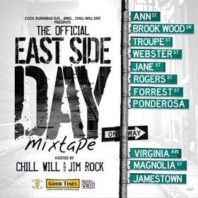 Official Eastside Day Mixtape CHILL iGRIND WILL front cover