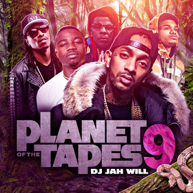 Planet Of The Tapes 9 DJ Jah Will front cover