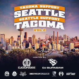 Tacoma Support Seattle, Seattle Support Tacoma Vol.2 DJ Don Gee front cover