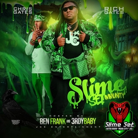 Slime Set Immunity Just Rich Gates front cover
