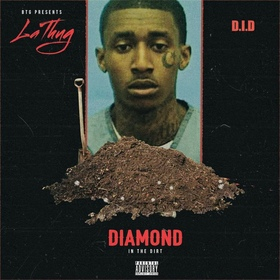 Diamond In The Dirt LaThug front cover