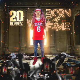 Born 4 Fame 20 Bluntzz front cover