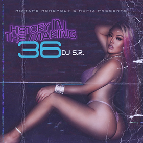 History In The Making 36 DJ S.R. front cover