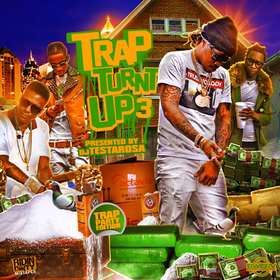 Trap Turnt Up 3 DJ Testarosa front cover