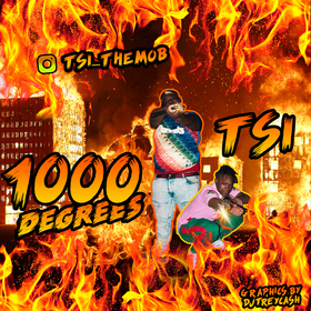 TSI :: 1000 Degrees Dj Trey Cash front cover