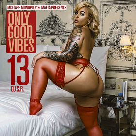 Only Good Vibes 13 DJ S.R. front cover