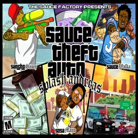 Sauce Theft Auto Sauce Twinz front cover