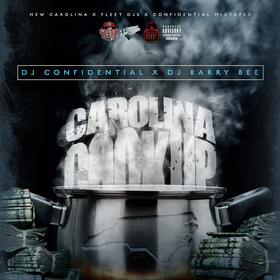 CAROLINA COOK-UP, VOL. 1 Dj Confidential front cover