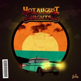 Hot August Nights Curren$y front cover