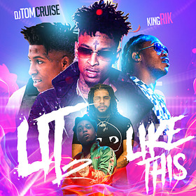 Lit Like This 2 DJ Tom Cruise front cover