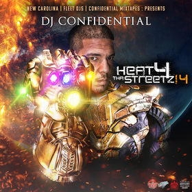 HEAT FOR THE STREETZ, VOL. 14 Dj Confidential front cover