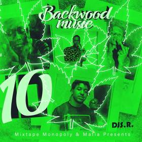 Backwood Music 10 DJ S.R. front cover