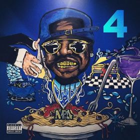 The Blue M&M 4 PeeWee Longway front cover