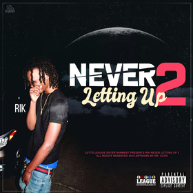 Never Letting Up 2 Rik front cover