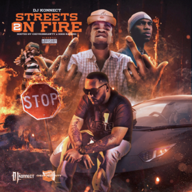"""""""Streets On Fire"""" 2 DJ Konnect  front cover"""