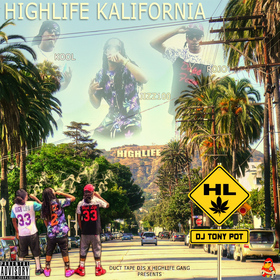 Highlife Kalifornia Highlife ODG front cover