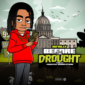 BEFORE THE DROUGHT DJ VELL front cover