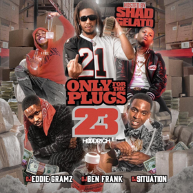 Only For The Plugs 23  DJ Ben Frank front cover