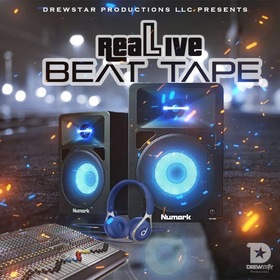Real Live Beat Tape DrewStar front cover
