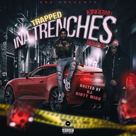 Trapped Ina Trenches KINGGWU  front cover
