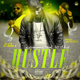 Committed To The Hustle  DJ MarcB front cover