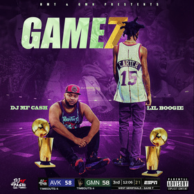 Game 7 DJ MF Cash front cover