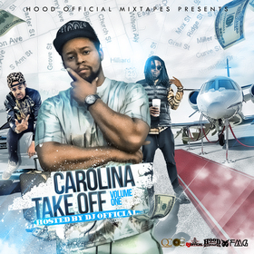 Carolina Take Off  DJ Official front cover