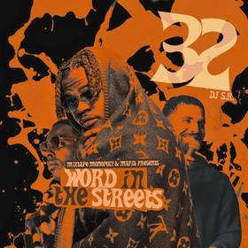 Word In The Streets 32 DJ S.R. front cover