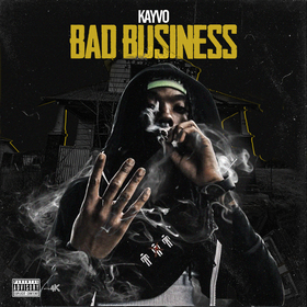 Kayvo - Bad Business EP Kayvo front cover
