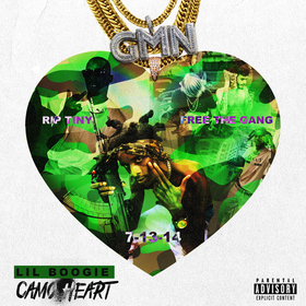 Camo Heart Lil Boogie front cover