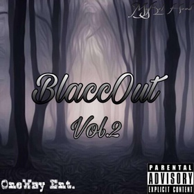 BlaccOut Vol. 2 MyKel Hood front cover