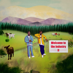 Welcome to the Industry II Damn Daqe front cover