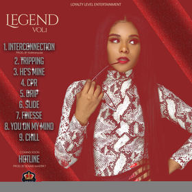Legend Vol 1 Loreal  front cover