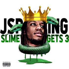 Slimey As it Gets 3 (Album) J Spalding front cover