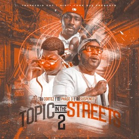 Topic In The Streets 2 DJ Cortez front cover