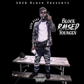 Block Raised Youngen' Dj Valasoul front cover