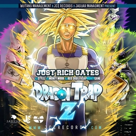 Dragon Trap Z Just Rich Gates front cover